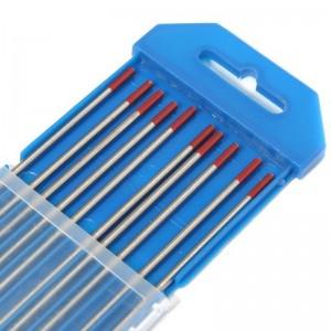 Electrodo de tungsteno ROJO, caja de 10 unidades