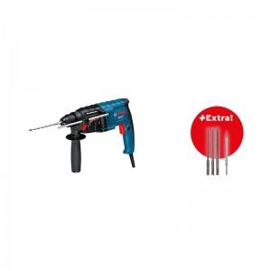 Martillo BOSCH GBH 2-20 D Professional + 3 Brocas - 061125A403
