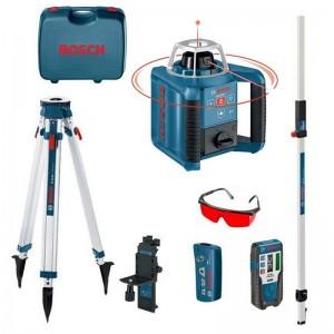 Nivel láser BOSCH GRL 300 HV + LR1 + BT170HD + MANDO + WM4 + GR240 - 061599405U