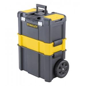Taller móvil STANLEY 3 en 1 Essential con cierres metálicos - STST1-80151