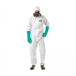Buzo desechable JUBA STEELGEN 1000 con riesgo químico tipo 5 y 6 - 1188B56PRO