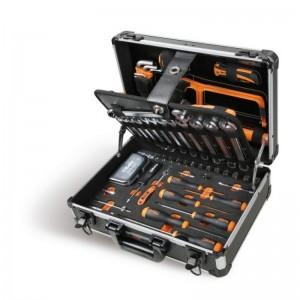 Maleta portaherramientas aluminio BETA 2054E/E-100 con 100 herramientas - 020540020