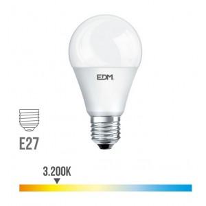 Lámpara led standard EDM E27 20W 2100 lúmenes luz cálida 3200K - 98709