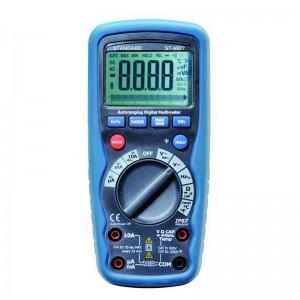 Multímetro digital KAISE ST9927T 1000V AC/DC con test de temperatura