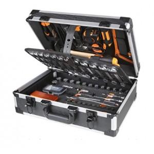 Maleta portaherramientas de aluminio BETA 2056E/E20 con 163 herramientas - 020560111
