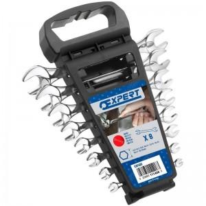 Juego de 8 llaves fijas EXPERT con soporte - E111406