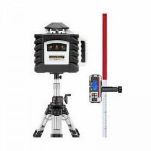 Láser de rotación profesional LASERLINER Quadrum G 410 S con receptor y trípode - 053.00.02-5