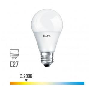 Lámpara led standard EDM E27 10W 810 lúmenes luz cálida 3200K - 98325