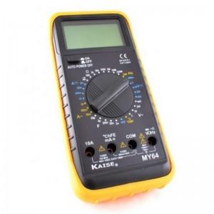 Multímetro digital KAISE MY64 600V AC/DC