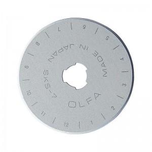 Cuchilla circular de recambio OLFA 45 mm diámetro - RB-45-1