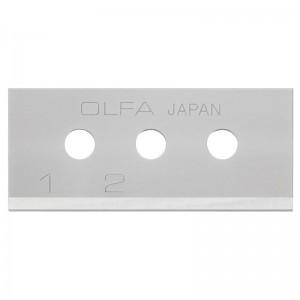 Cuchilla rectangular OLFA de 17,8x40 mm utilizable en 4 posiciones - SKB-10/10B