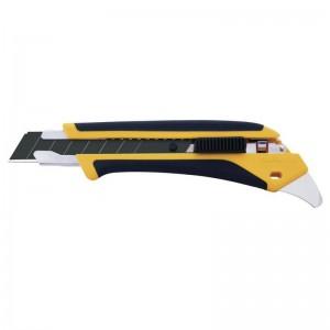 Cutter OLFA con bloqueo automático y púa multiusos L5 en caja dispensadora - L5-AL/DSB10