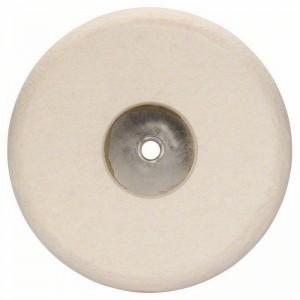Disco pulidor de fieltro BOSCH GPO 180 mm con rosca M-14 - 1608612002